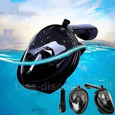 Swimming Diving Mask Full Face Breath Surface Snorkeling Mask Dry Snorkel Scuba