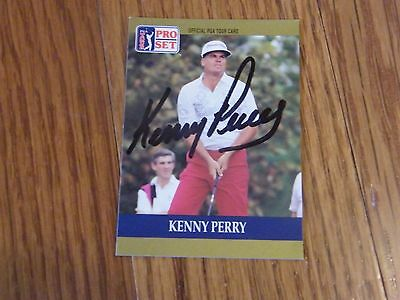 Kenny Perry Autographed PGA Pro Set Golf