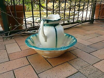 Antique water jug and bowl - immaculate