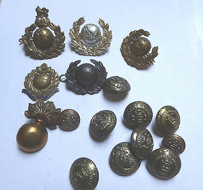 Victorian & Later Royal Marines / Royal Marines Light Infantry Badges & Buttons