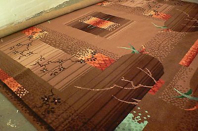 INCREDIBLE Axminster all wool deco 30's 40's vintage rug carpet barely used
