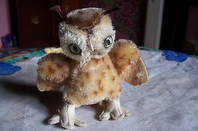 Small Steiff Witty owl , good condition