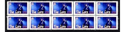 The Cure Strip Of 10 Mint Music Stamps 6