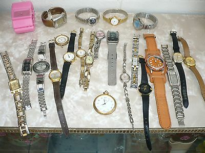 Large Job Lot Of Mixed Watches X 24