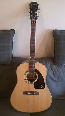 Limited Edition AJ-200S Deluxe NAT Epiphone Acoustic Guitar With Hardcase