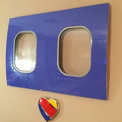 Former Southwest Airlines Boeing 737 Fuselage Cutout