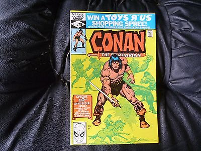 Conan the  Barbarian #  115  nm  N.D  in U.K  (non distributed) double siz issue