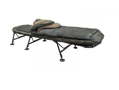 Nash Tackle NEW Indulgence SS3 5 Season Sleep System Bedchair - T9405