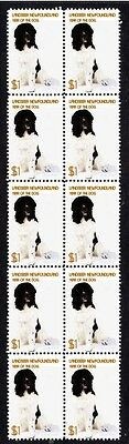 Newfoundland Year Of The Dog Strip Of 10 Mint Stamps 2