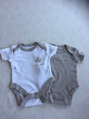 Tiny Baby Unisex Clothes - Cute Vest Top Bodysuits - New