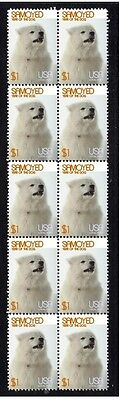 Samoyed Year Of The Dog Strip Of 10 Mint Stamps 2