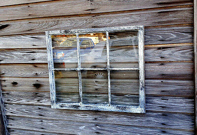 Vintage Sash Antique Wood Window Picture Frame Pinterest Wedding 6 Pane Shabby