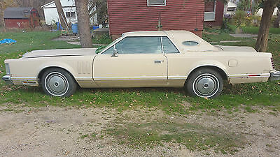 1978 Lincoln Mark Series Base Coupe 2-Door vintage 1978 Lincoln Continental Mark V 5 Base Coupe 2-Door 7.5L 460 ONE OWNER