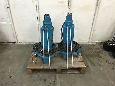 Paco Submersible 2 HP Three Phase Pumps , Oldstock