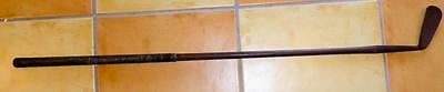OLD HICKORY SHAFT DRIVING IRON-SEASCALE-C.C.ANDERSON-FOR CHILD OR LADY??  c.1900