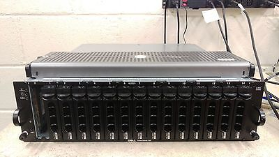 Dell Powervault MD1000 SAS/SATA Storage Array DAS 14x 146GB 15K SAS 0XM792 XM792