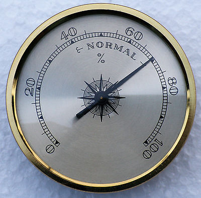 Hygrometer 70mm diameter available in a choice of dial and bezel.