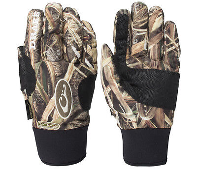 Drake Waterfowl Mst Refuge Gore-Tex Gloves Real Tree Max-5 Camo L