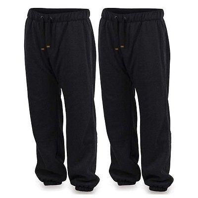 Brand New Fox Chunk Heavy Black Marl Lined Joggers - All Sizes Available