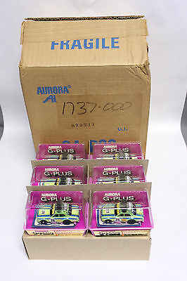 Aurora Afx G-Plus #1737 Ford Escort Rallye Banded In Cube From Factory Case