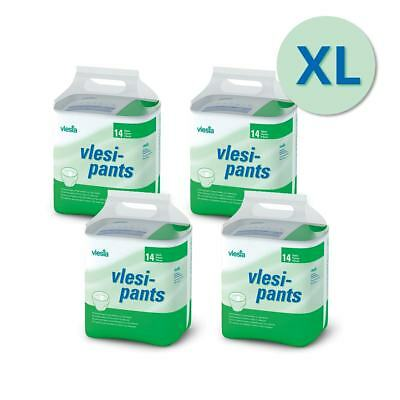 Vlesi Pull-up Pants - Extra Large - Carton - 4 Packs of 14