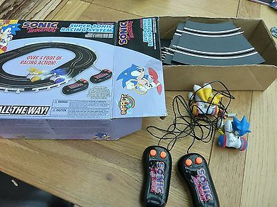 Sonic The Hedgehog Super Sonic Racing System By Impact Battery Operated