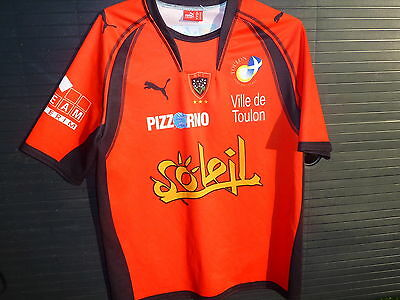 puma maillot RUGBY RCT TOULON domicile  taille M