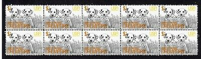 Dalmatian Strip Of 10 Mint Year Of The Dog Stamps 3