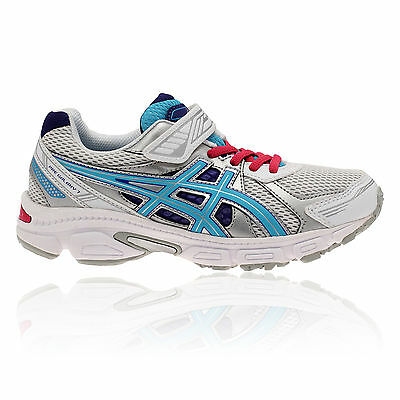ASICS Junior PRE GALAXY 7 PS Grey Cushioned Running Trainers Shoes Pumps