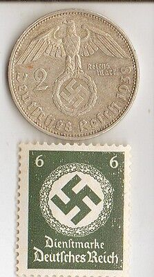 -* WW2 - *US  and  *german  coins  and   stamp +..