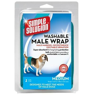Pet Fulfillment 024BRA-11241 Solution simple lavable Homme Diaper Garment Wrap