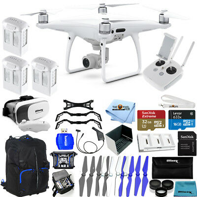 DJI Phantom 4 Pro Quadcopter! 3 Battery JUMBO Ready To Fly PRO Bundle NEW MODEL!