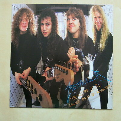 """METALLICA Garage Days Re-Revisited UK 4 track 12"""" single in picture sleeve Verti"""