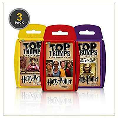 Top Trumps - Harry Potter and the Prisoner of Azkaban (3 Pack)