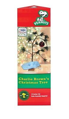 Charlie Brown Christmas Tree by Peanuts NEW Collectors Holiday