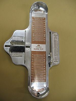 Brannock Style Foot Measuring Device for Women - Women's Foot Sizer -  Preowned