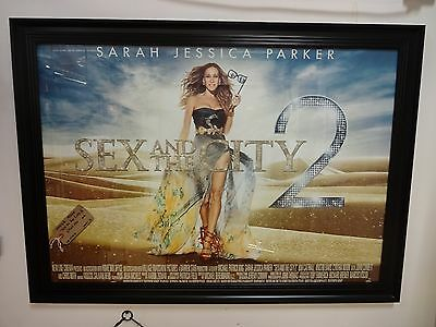 'Sex In The City 2' Original Movie Poster (Framed)