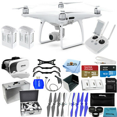 DJI Phantom 4 Pro Quadcopter! 2 Battery JUMBO Ready To Fly PRO Bundle NEW MODEL!