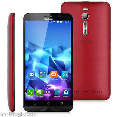 ASUS Zenfone 2 4-Core 4G LTE Smartphone Android 5.0 2.3GHz 4+64G Dual SIM GPS