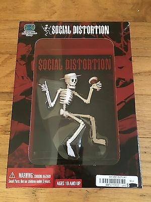 Social Distortion Cigarette Martini Skeleton Punk Action Figure Collector Toy