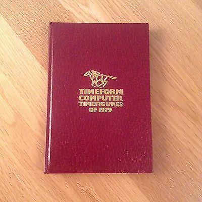 1979 Computer Timefigures, Timeform, horse racing, speed ratings, nr-Fine