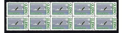Gliders Soaring The Skies Strip Of 10 Mint Stamps 4