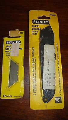 Stanley Quick Change Utility Knife with Blades