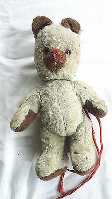 OURS tres ANCIEN OLD TEDDY BEAR