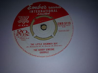 """The Harry Simeone Chorale -  """"Onward Christian Soldiers""""   7""""  (1960)"""