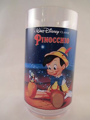 Pinocchio Plastic Glass ~ Disney Classic Collector Series ~ Coke ~ Burger King