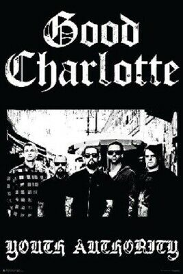 GOOD CHARLOTTE ~ YOUTH AUTHORITY ~ 24x36 MUSIC POSTER ~ Rock Joel Benji Madden
