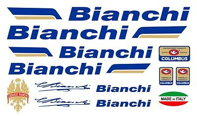 Bianchi vinyl decals stickers frame replacement graphic set aufkleber adesivi #2