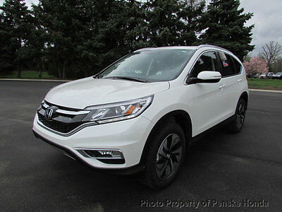 2016 Honda CR-V AWD 5dr Touring AWD 5dr Touring New 4 dr SUV CVT Gasoline 2.4L 4 Cyl White Diamond Pearl