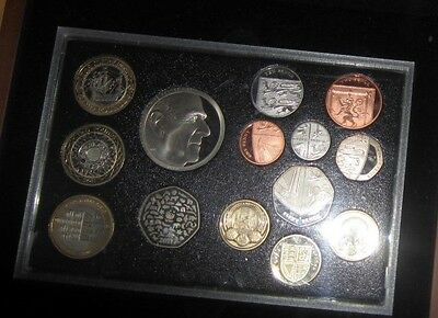 Gb Proof Set Coins 2011